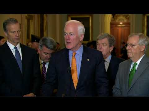 Cornyn: Tax Reform Would Cap a Successful Year for the Senate