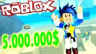 I GET $5,000,000 AND I BUY SUPER PALA TREASURE HUNT SIMULATOR ? ROBLOX