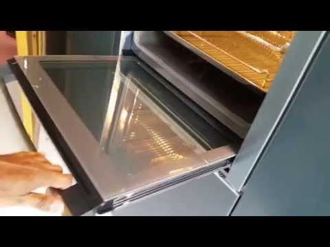 Neff B44M42N3GB Slide And Hide Single Electric Oven, Stainless Steel    YouTube