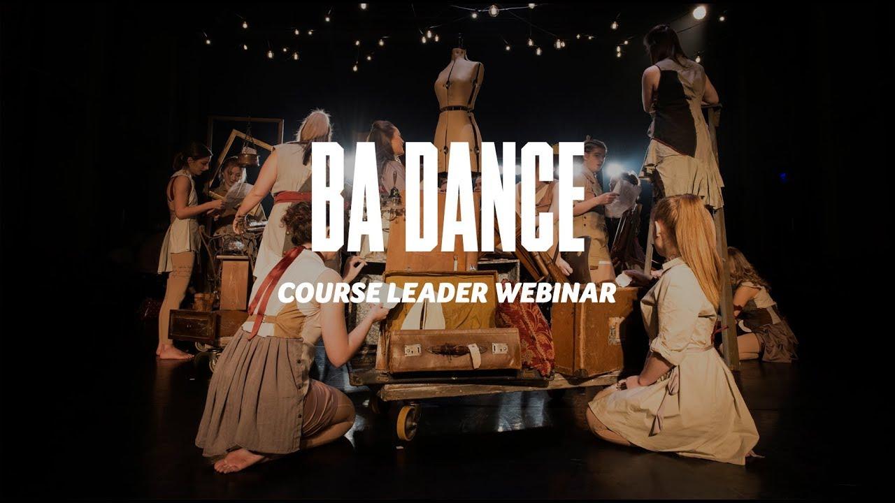 Course Webinar - BA Dance