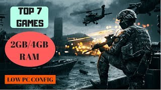TOP 7 WORLD WIDE GAMES | 2GB/4GB RAM | GAMING WITH ROY