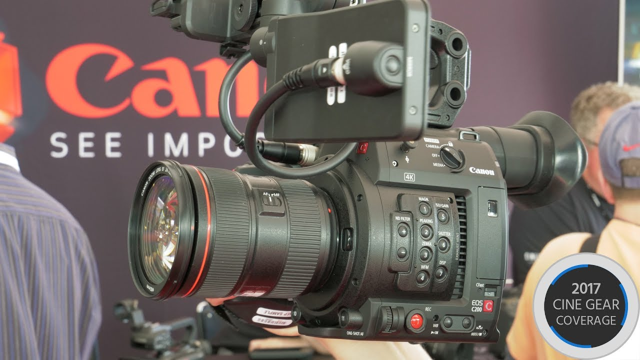 Canon C200 Hands-On & Interview | cinema5D