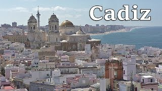 Cadiz in Spain on A Beautiful Day in July