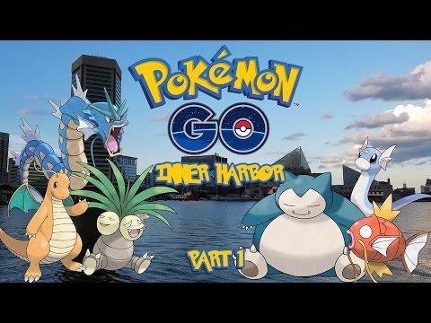 Pokemon Go At... the Baltimore Inner Harbor!  (Part 1)
