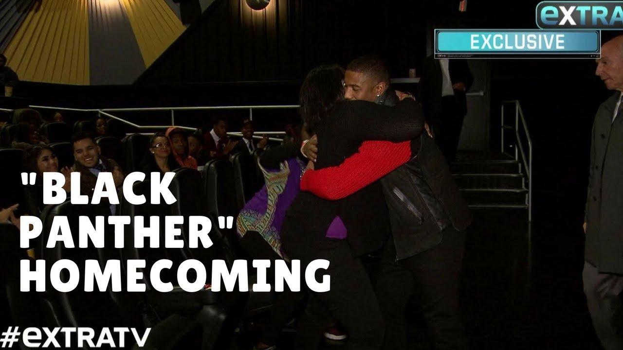 e9569a8401dd67 Michael B. Jordan s  Emotional  Return to His Hometown to Host  Black  Panther  Screening