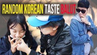 [Challenge #9] Random Koreans taste BALUT and Filipino dessert!!