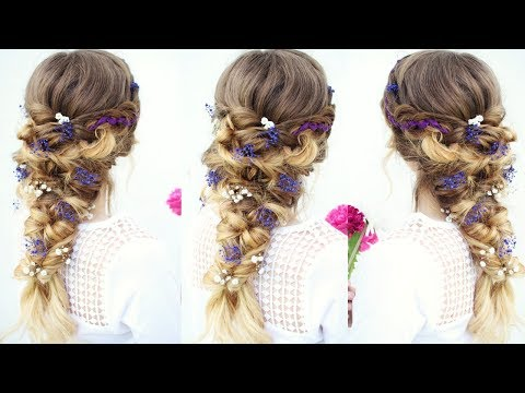 Fairy / Mermaid Braid Hairstyle | Halloween Hairstyles | Braidsandstyles12