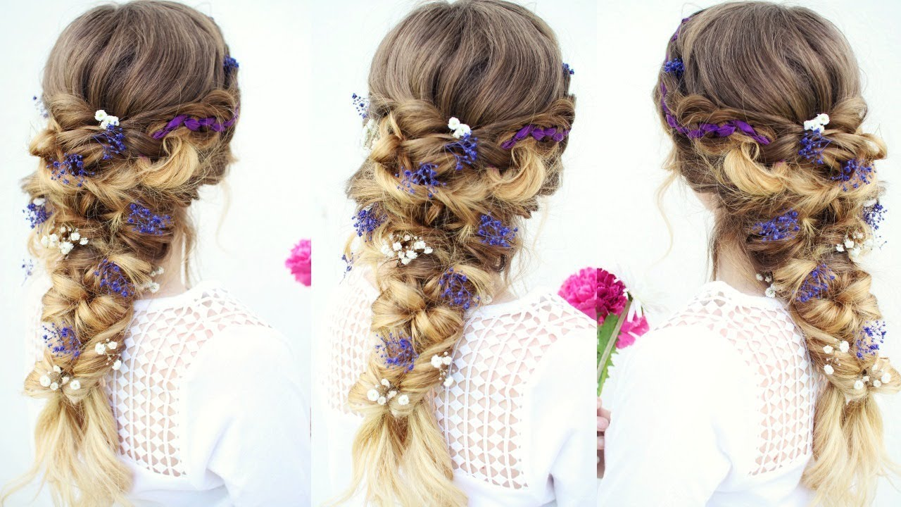 Hair Styles For Summer: Fairy / Mermaid Braid Hairstyle
