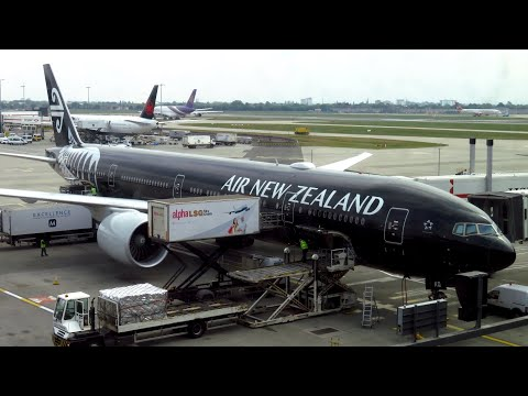 TRIP REPORT | Air New Zealand (ECONOMY) | London Heathrow To Los Angeles NZ1 | All Blacks 777-300ER