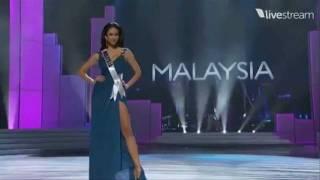 Miss Universe 2011 Preliminary - MALAYSIA (Deborah Henry)
