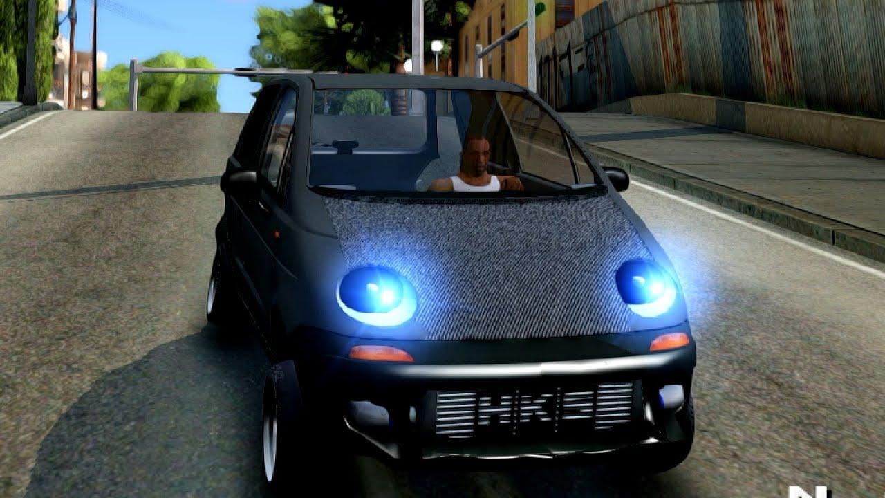 Daewoo Matiz Tuned - GTA San Andreas - YouTube