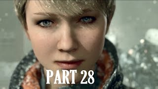Detroit Become Human Walkthrough Gameplay Public Opinion Part 28 PS4 No Commentary