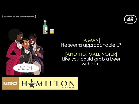 #42 Hamilton - The Election of 1800 (VIDEO LYRICS)