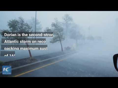 Hurricane Dorian Pounds Bahamas, Menaces Florida Coast