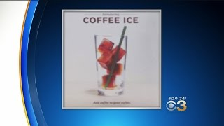 Starbucks Making Coffee Ice Cubes