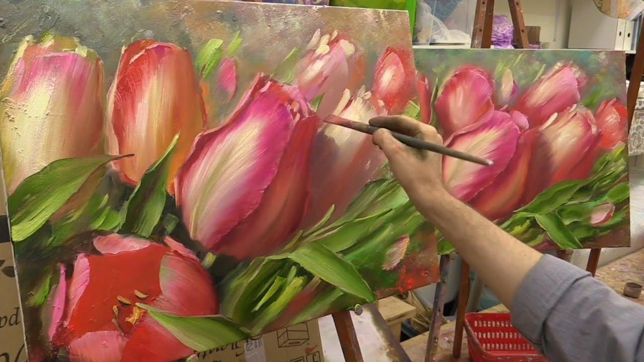 Картины тюльпаны