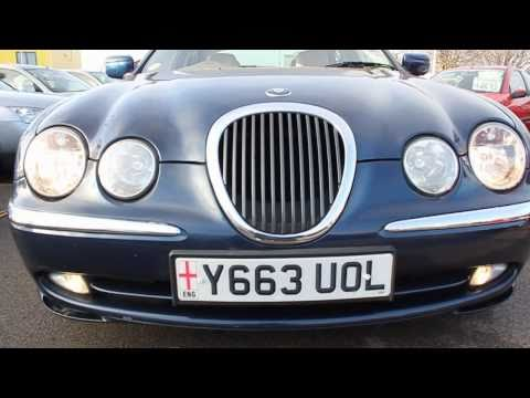2001 Jaguar S-Type Start up, exhaust and In depth tour