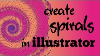 Make Cool Gradient Filled Spirals in Adobe Illustrator