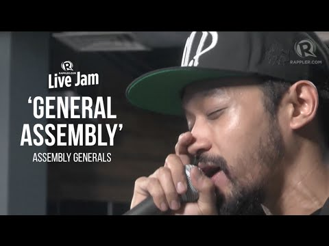 Assembly Generals - 'General Assembly' (Rappler Live Jam)