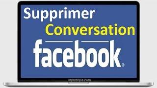 Comment Supprimer une Conversation Facebook