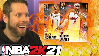Streaming until I pull Tracy McGrady on NBA 2K21