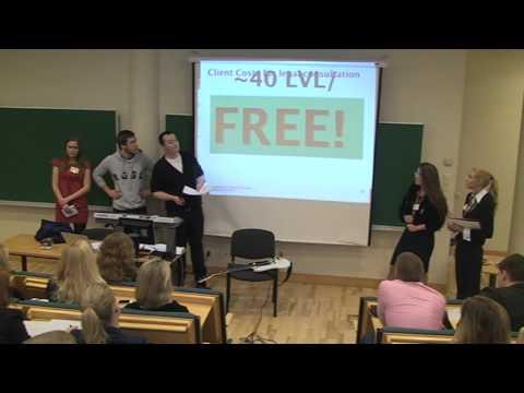 Riga Graduate School of Law Marketing course presentation