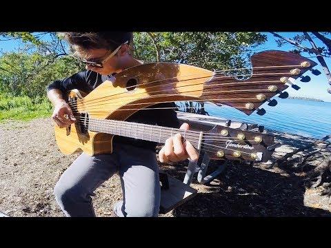 Simple Man - Lynyrd Skynyrd - Harp Guitar Cover - Jamie Dupuis