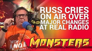 Russ Rollins cries on air over major changes at real radio!