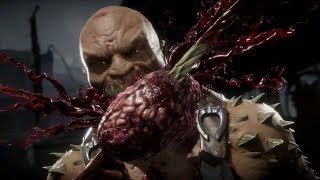 Mortal Kombat 11 Gameplay Reveal - Scorpion vs Baracka