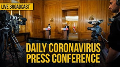 Live: Daily government coronavirus press conference - Tuesday, April 14, 2020