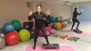 Evde Yapabileceğimiz Step Hareketleri---Step dance video