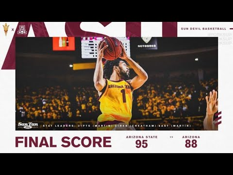 Remy Martin highlights vs Arizona : career high 31 pts, 8 asts