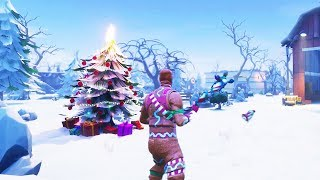 FINALLY.. SNOW IN FORTNITE BATTLE ROYALE!
