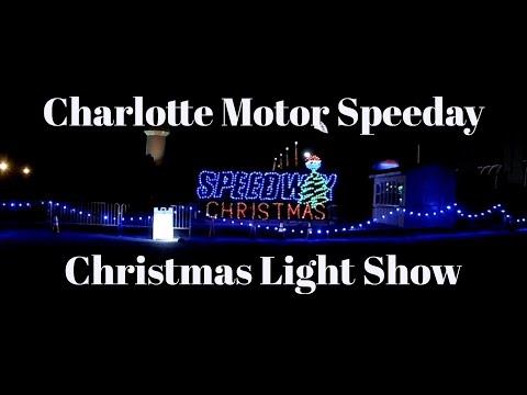 Charlotte Motor Speedway Christmas Light Show