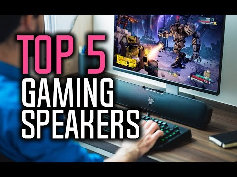 Best Speakers For Gaming in 2018 - Which Speakers Are The Best For Gaming?