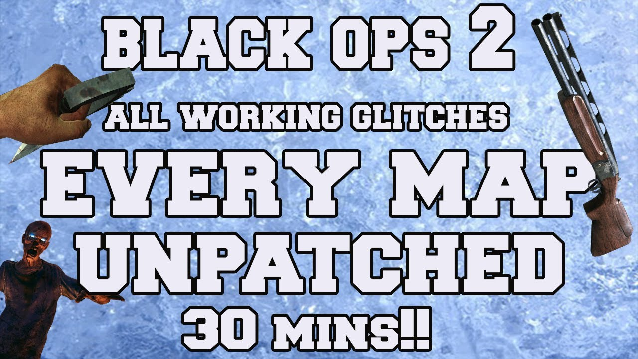New COD Black Ops 2 Zombie Glitches Montage Part 1 All Glitches