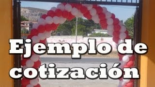 Repeat youtube video UN UTIL EJEMPLO DE COTIZACION