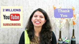 2 Million Subscribers | Special Video | Wishes from Youtube Creators | Kabita's Kitchen