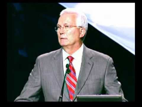 ASA President Ron Pyle at the General Session ASRW...