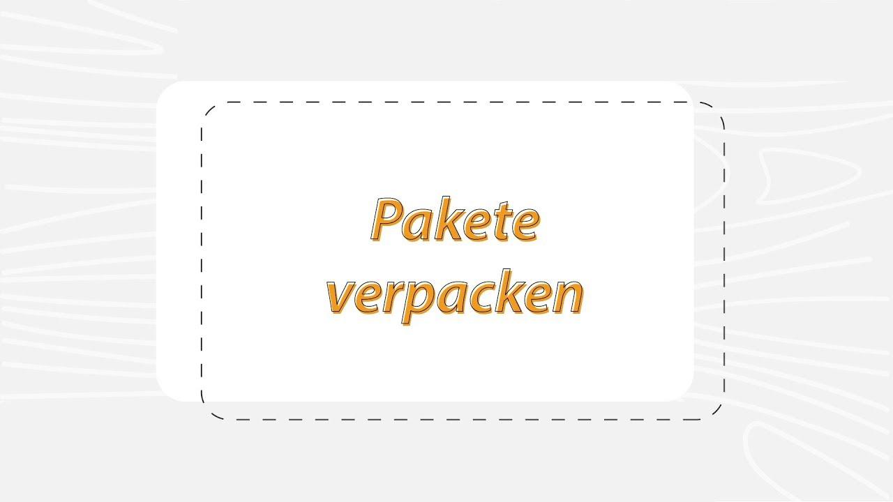 Hinweise Und Verpackungstipps Transglobal Express