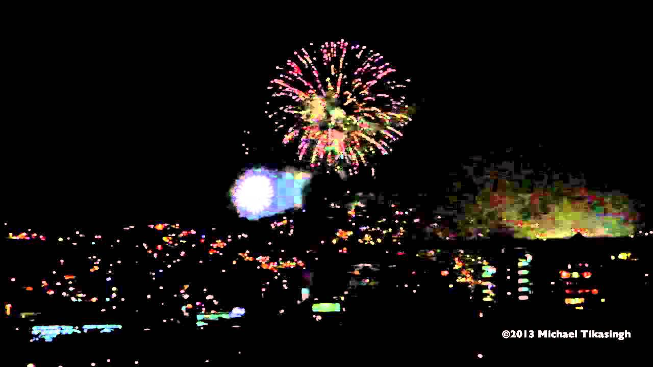 independence day fireworks 2013 trinidad amp tobago youtube