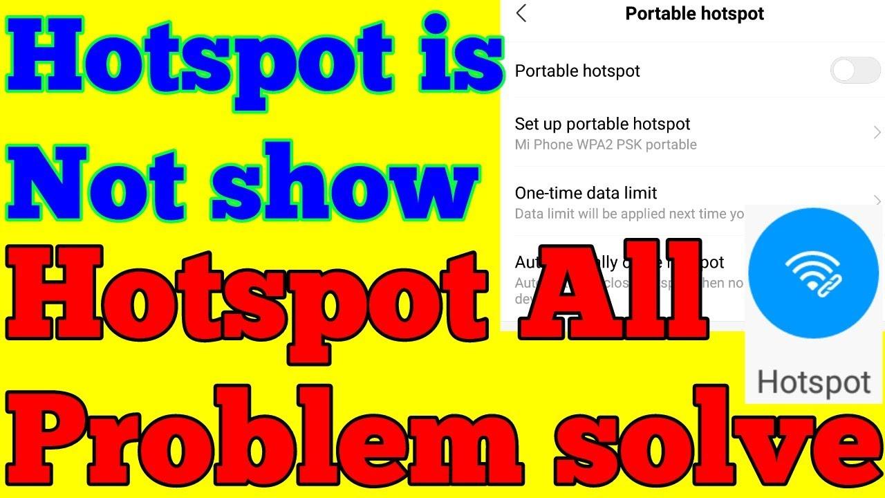 Mobile hotspot kaise sahi kare,mobile hotspot not working,hotspot  automatically turns off, hotspot