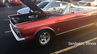 1965 Ford Galaxie 500 convertible -- Always good to see a GAL