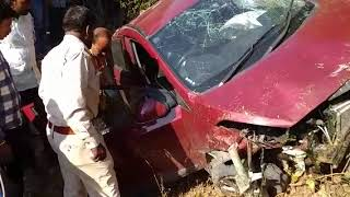 car accident In MP