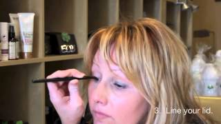 How to Use Eve Organics Eyeshadows as a Wet Eyeliner Thumbnail