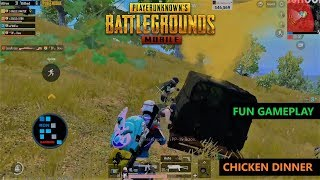 [Hindi] PUBG MOBILE | FUN GAMEPLAY CHICKEN DINNER WITH SUBS SQUAD