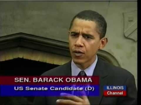 Barack Obama's Nov 2003 Interview on National & International Issues