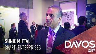 Sunil Mittal At World Economic Forum 2017
