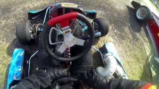 Honda CR 500 GoKart Hillclimb.