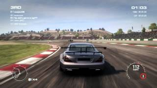 GRID 2 PC Multiplayer Race Gameplay: Tier 4 Fully Upgraded Mercedes-Benz SL65 AMG Black in Algarve